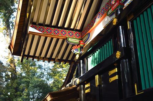 香取神宮拝殿横 by leicadaisuki