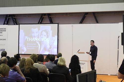 Matt Gibson talks at TFM&A