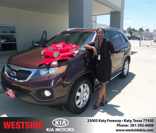 #HappyBirthday to Shenette Prevo from Guzman Gilbert and everyone at Westside Kia! by Westside KIA