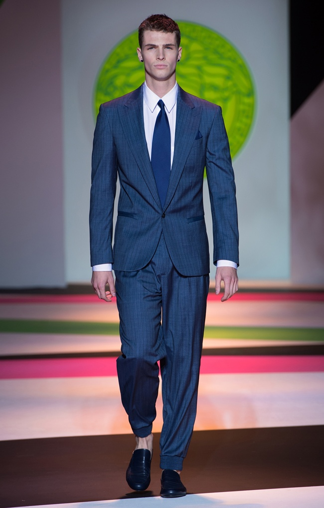 8 VERSACE Men's SS2014_Look 8