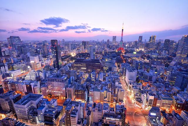 東京タワーとマジックアワー