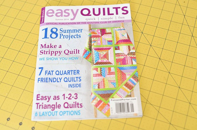 Easy Quilts Summer 2014