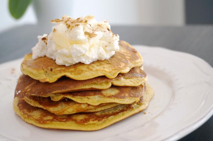 Banane-Ei-Pancakes