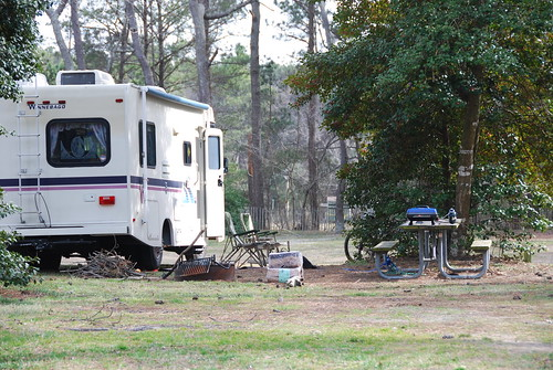 Camping at Kiptopeke State Park