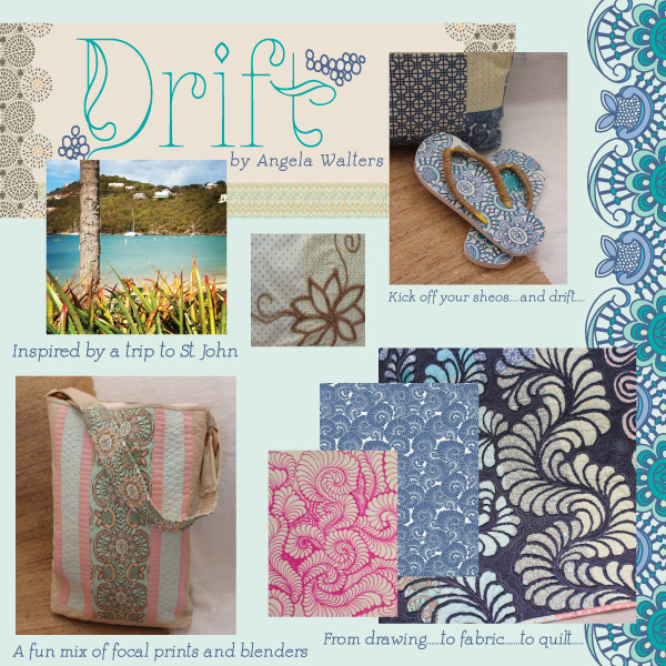 Drift by Angela Walters for Art Gallery Fabrics