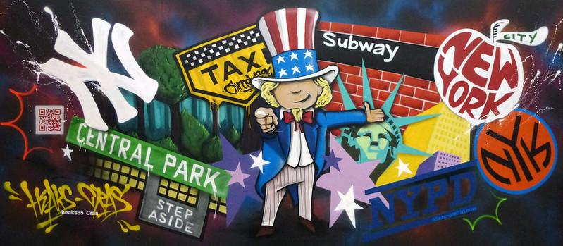 65ers graffiti parc expo foire toulouse hall 4