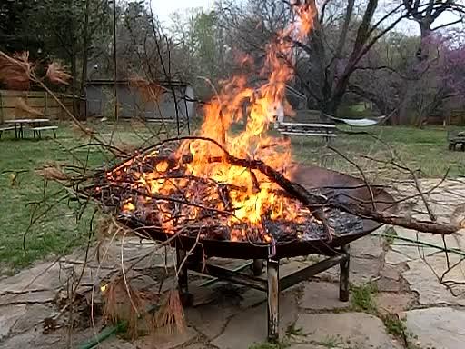 Fireside Goofball
