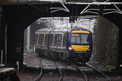 170408 approaching Springburn working 2J90 from Glasgow Queen Street 05/04/14...
