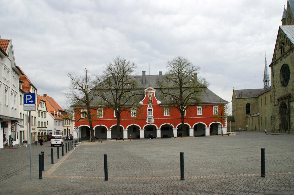 Fachhochschule s dwestfalen map north rhine westphalia for Design 8 hotel soest