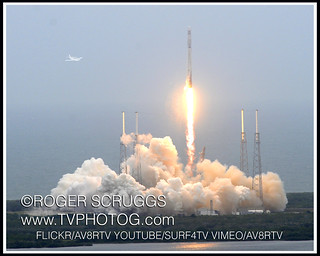 SpaceX 3 Launch