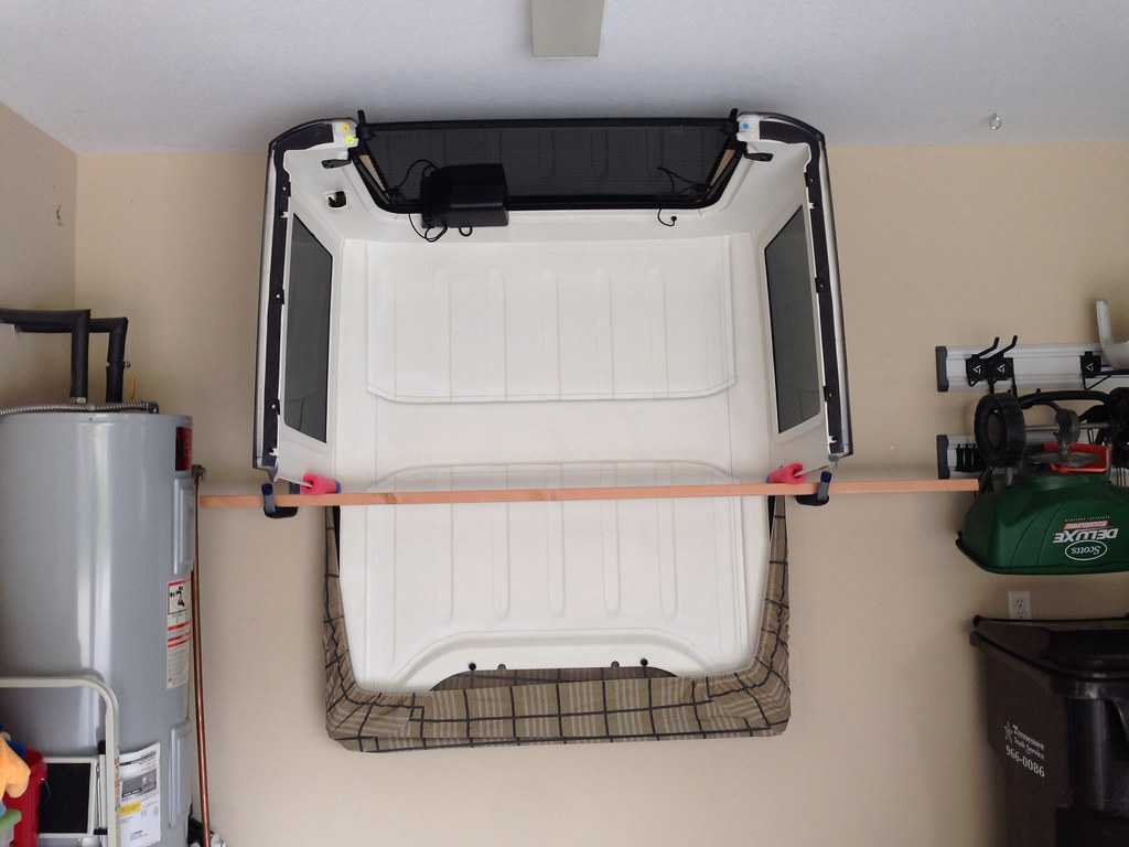 Hard Top Storage for summer months - Jeep Wrangler Forum