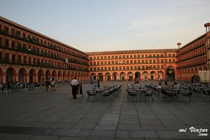 Plaza de la corredera. Córdoba España