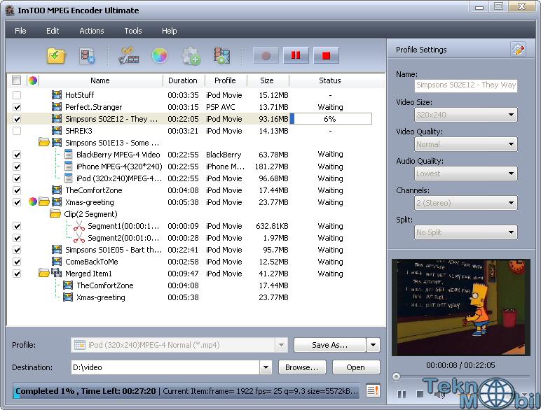 ImTOO MPEG Encoder Ultimate v7.8.8.20150402 Full