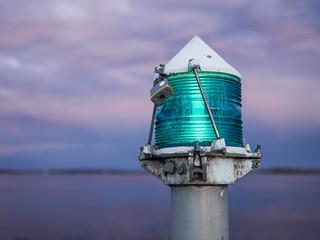Green Navigation Light