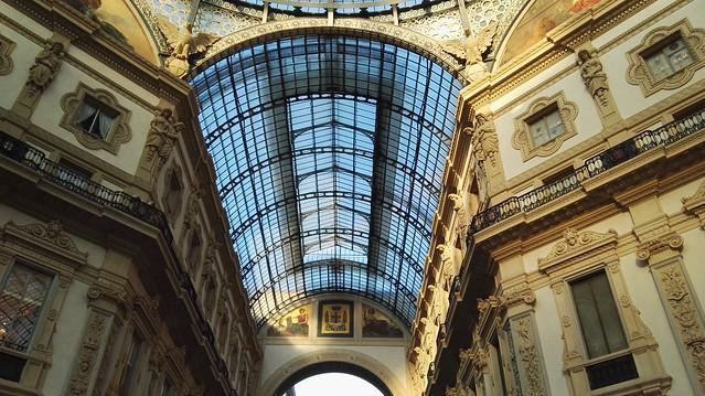 In der Galleria Vittorio Emanuele