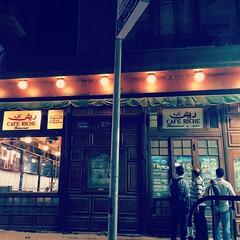 Cafe riche in #Cairo #Egypt #Citizenjournalism #Blogger #Cairowalks #downtown #downtowncairo