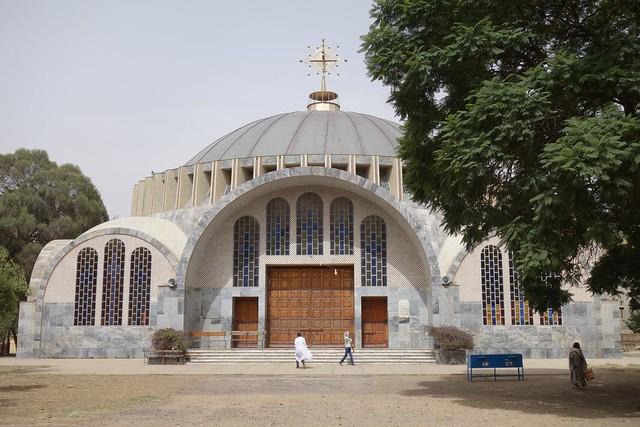 Nova igreja de Santa Maria de Sião, Axum