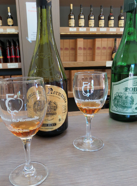 Pierre Huet Cider in Cambremer, France