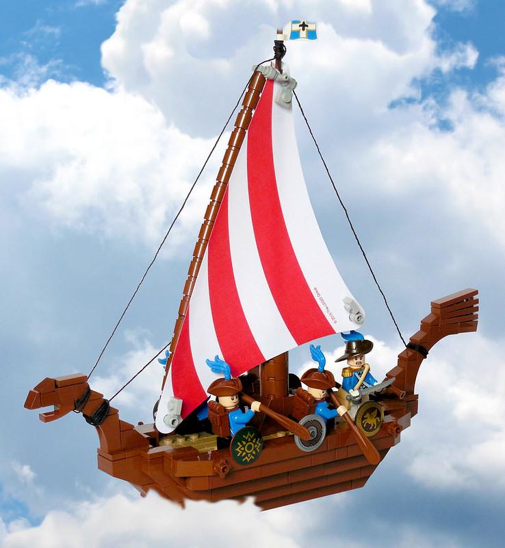 "Isles of Aura: The ""Windlark"""