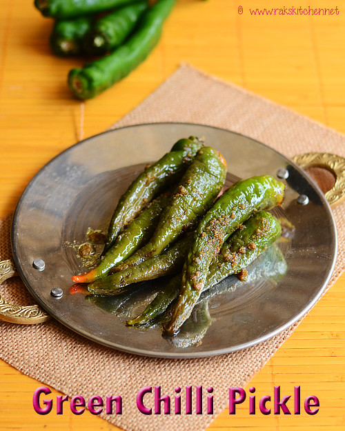 green-chilli-pickle
