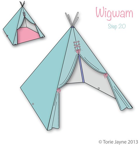 Wigwam Step 20
