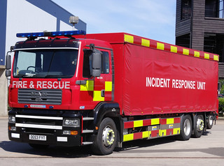 South Yorkshire Fire & Rescue Service MAN TG-A Incident Response Unit