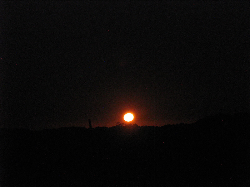 Moonrise, Dorrigo, NSW