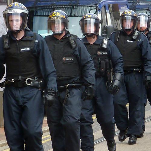 riot police by pho-Tony