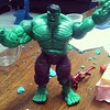 Hulk Marvel,oleh2 dari toys&hobbies expo