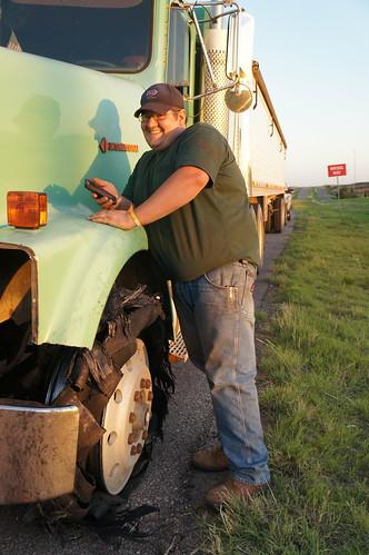 Emma: Dan and his truck