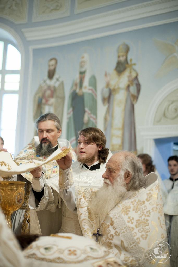 15 июня 2013, Божественная литургия в день выпуска СПбПДА