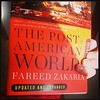 Morning train read #PostAmeeicanWorld by @fareedzakaria #politics #globalpolitics