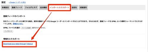 Google リーダー