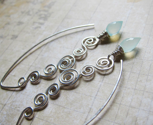 Swirling Tides Earrings
