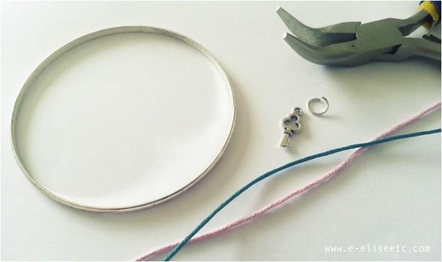 diy kate spade inspired bracelet 2