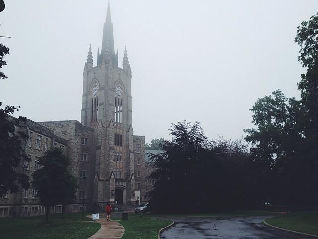 Mugginess on campus