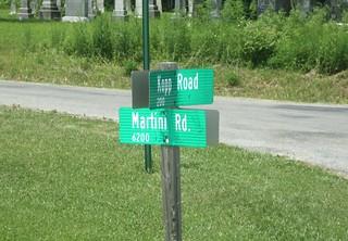 Martini, Kopp Rd. sign182