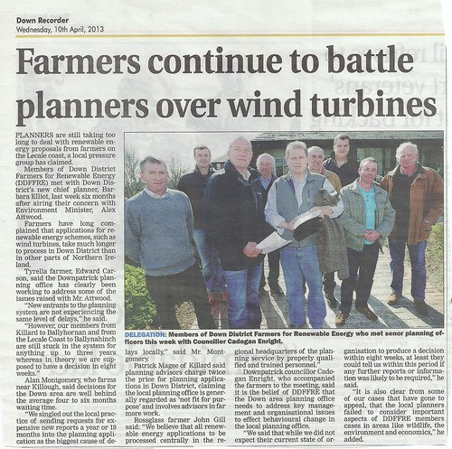 10th April 2013 Farmers continue to Tackle Planning Service by CadoganEnright