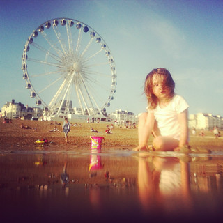 Matilda and Brighton Ferris Wheel