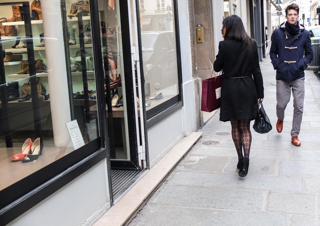 Paris, Different Directions in Saint-Germain-des-Prés