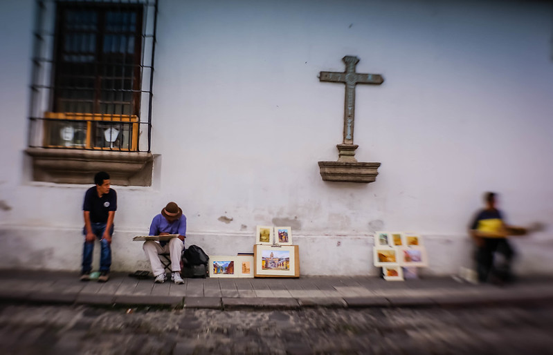 Artists in Antigua Guatemala