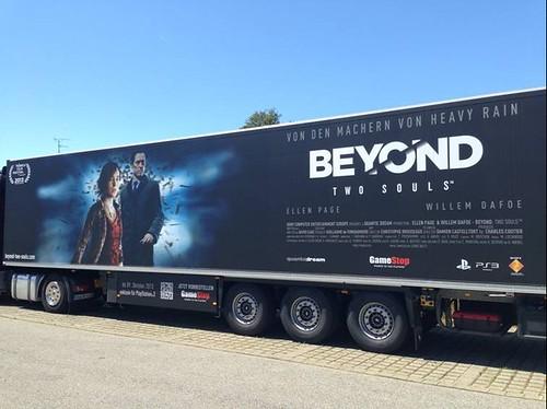 beyond two souls truck tour