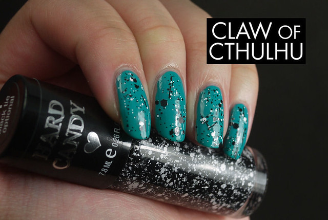 OPI Fly Swatch (With Hard Candy Black Tie Optional)