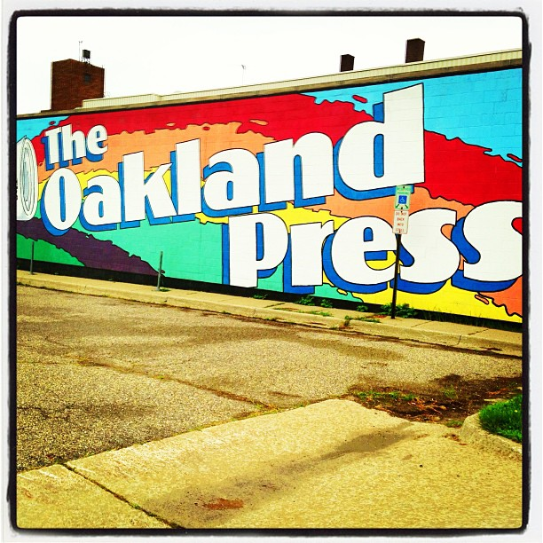 The Oakland Press in burb of #detroit