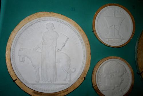 National Museum of Ireland mold exhibit