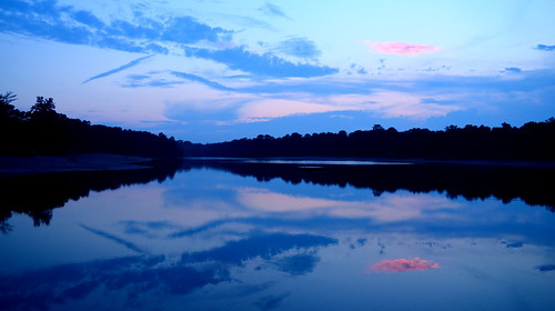 new sunset lake pine clouds harry jersey wright barrens whiting
