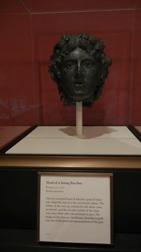 DSCN7450 _ Head of a Young Bacchus, Roman, A.D. 1-50, Getty Villa, July 2013