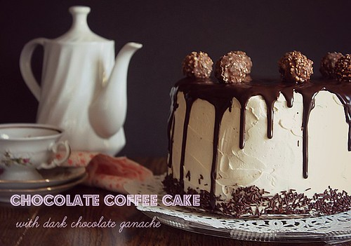Chocolate Coffee Cake by Fitri D. // Rumah Manis