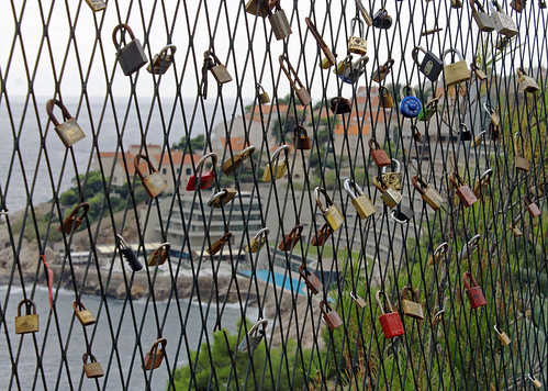 Dubrovnik Love Locks by TonyKRO