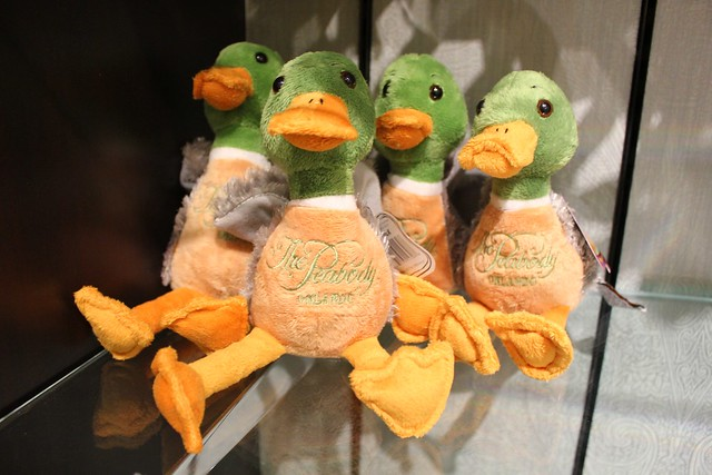 Peabody Orlando ducks